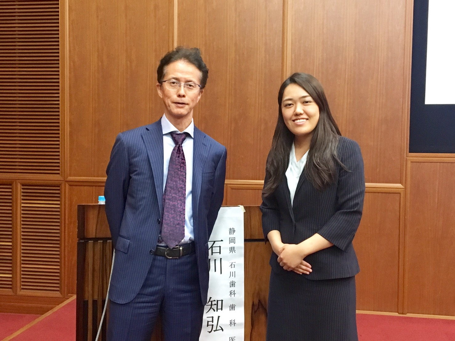 岡山県で開催された歯科衛生士の勉強会に参加しました