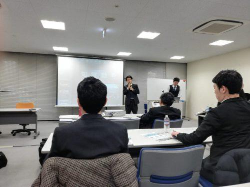 NHK例会で院長発表