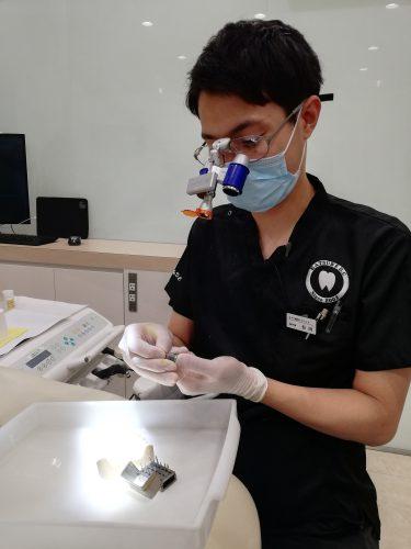 歯科医師練習風景