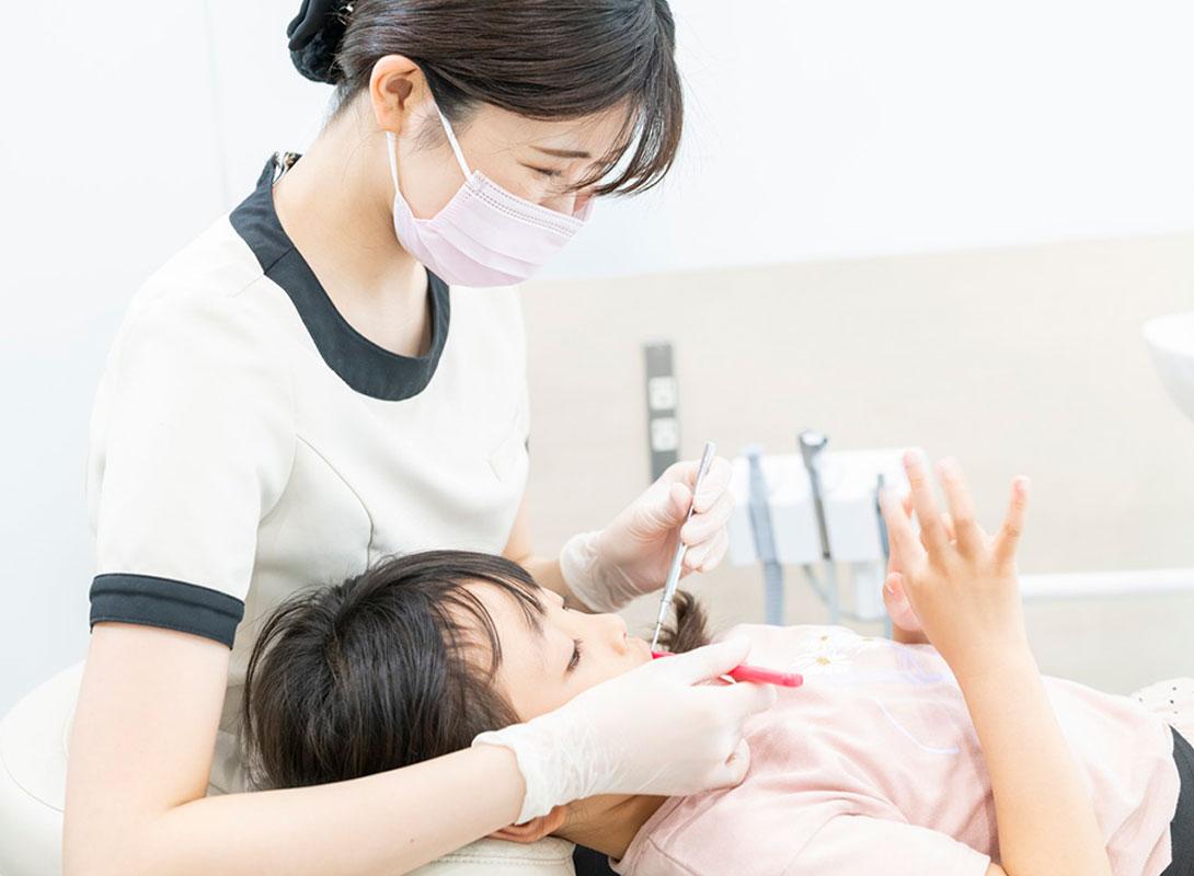 お子様が怖がらないむし歯治療を