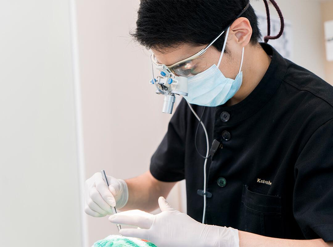 お口全体を考慮した総合的な治療を提供しています