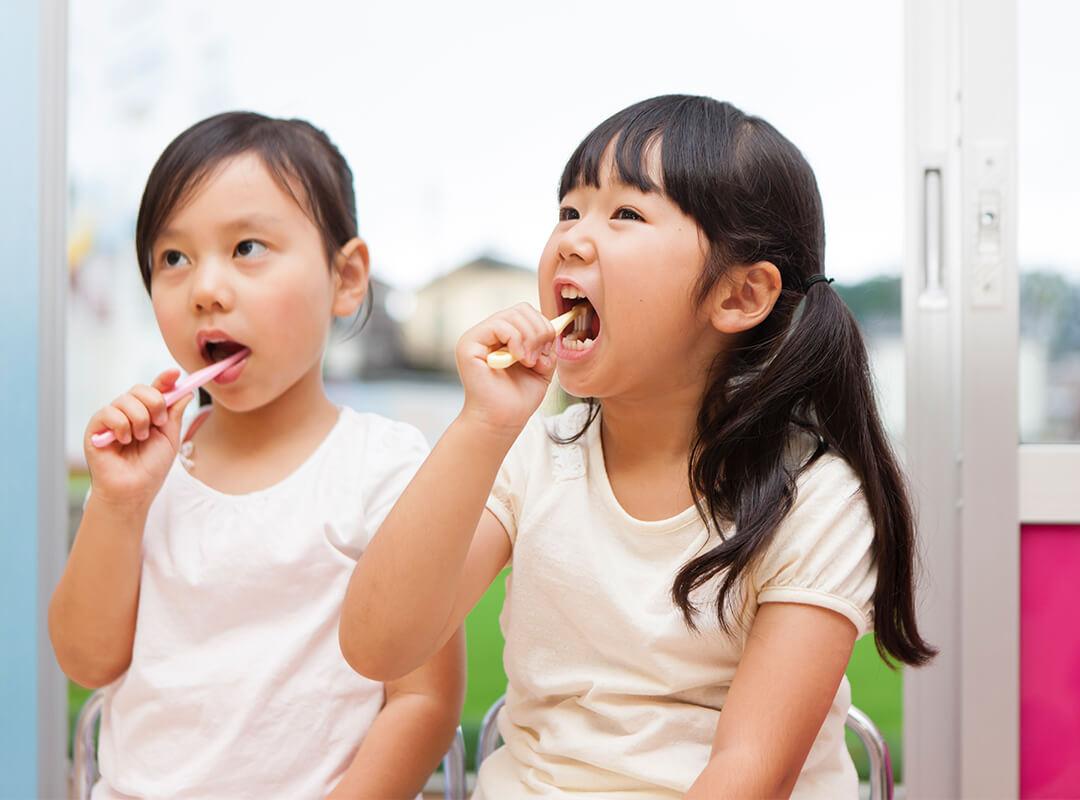 子どものときから予防歯科に通うメリット
