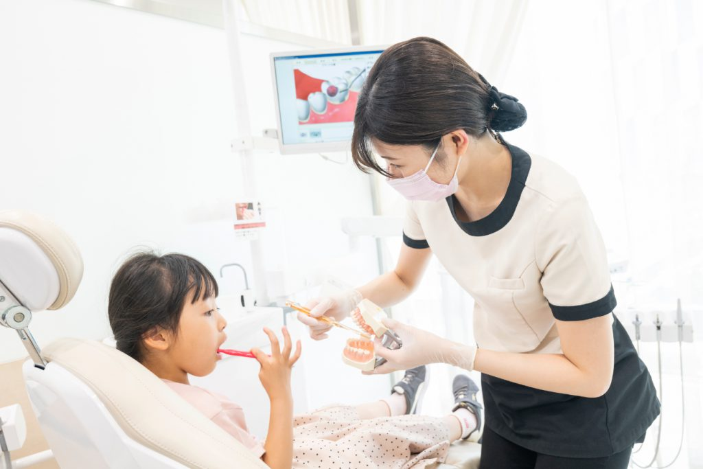 梅田の小児歯科